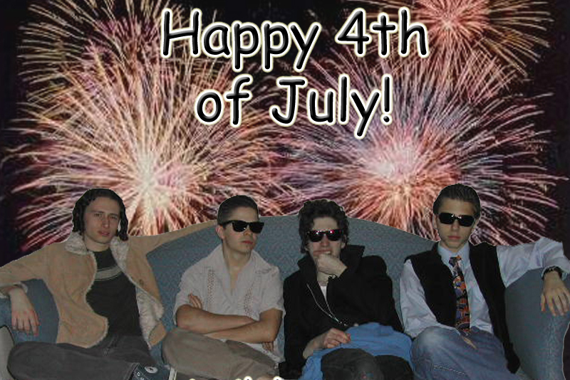 Happy 4th Of July (Old Photo from 2004